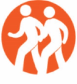 Walking group icon